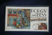 BROADWAY MUSICALS PORGY AND BESS 29C STAMP FDC HANDPAINTED COLLINSX2102 SC2768