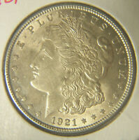 1921 MORGAN 90 SILVER DOLLAR
