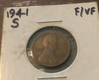 1941 S LINCOLN MEMORIAL CENT  1010  BUY 8 GET 60 OFF