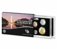 2019 S UNITED STATES MINT 10PC SILVER PROOF SET W/ .999 SILV
