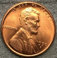 1950 D RD RED UNCIRCULATED BU LINCOLN WHEAT CENT. X439 FREE SHIP