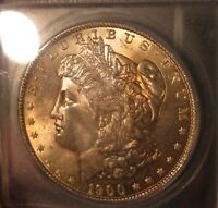 1900 O MORGAN SILVER DOLLAR - ICG MINT STATE 66, LIGHT ALBUM TONING OBVERSE 3496