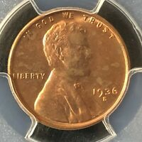 1936-S 1C RD LINCOLN WHEAT ONE CENT  PCGS MINT STATE 63RD                 35719863
