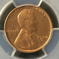 1936-S 1C RD LINCOLN WHEAT ONE CENT  PCGS MINT STATE 65RD                 36089887