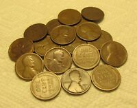1/2 ROLL OF 1911 D DENVER LINCOLN WHEAT CENTS FROM PENNY COL