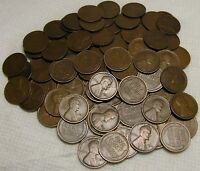 2 ROLLS OF 1912 P PHILADELPHIA LINCOLN WHEAT CENTS FROM PENN