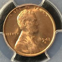 1941-S 1C RD LINCOLN WHEAT ONE CENT  PCGS MINT STATE 64RD            35721125