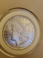 1880 O MORGAN PL BU SILVER DOLLAR -SUPER  IN PROOF LIKE