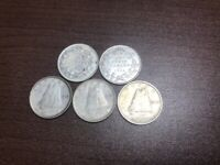 5 CANADIAN DIMES 1933 1934 AND 1948  3