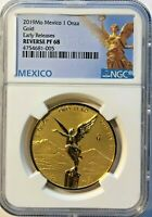 2019 MEXICO 1 OZ REVERSE PROOF GOLD LIBERTAD - NGC PF68 EARLY RELEASE