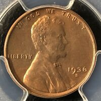 1938-D 1C RB LINCOLN WHEAT ONE CENT  PCGS MINT STATE 65RB             35719853