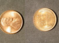 TWO HAND PICKED CHOICE BU PENNYS ONE 1949-P AND ONE 1950-D WHEAT FROM BU ROLLS 2