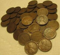 1 ROLL OF 1909 P VDB PHILADELPHIA LINCOLN WHEAT CENTS FROM P