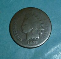 1877 INDIAN HEAD PENNY