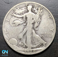 1928 S WALKING LIBERTY HALF DOLLAR --  MAKE US AN OFFER  P3554