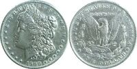 1900-S $1 MORGAN SILVER DOLLAR  FINE DETAILS CLEANED