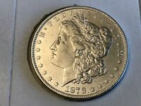 1878 8 TAIL FEATHER MORGAN DOLLAR IN AU