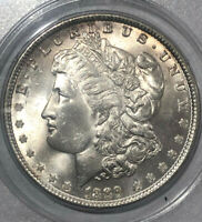1889 P MORGAN SILVER DOLLAR PCGS MINT STATE 64 OGH US BRILLIANT COIN