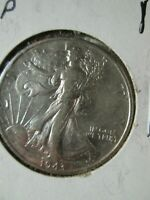 1943 P WALKING LIBERTY HALF DOLLAR SILVER COIN,  CONDITION  3041