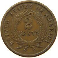UNITED STATES 2 CENTS 1864  T84 295