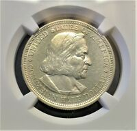 1893 COLUMBIAN EXPOSITION HALF DOLLAR NGC MINT STATE 61 PL SILVER 50C PROOF??