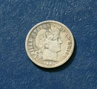 1903 BARBER DIME    GOOD DETAILS  OVER 100 YEARS OLD  SHIPS FREE