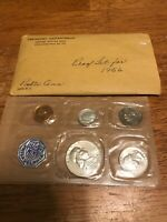 1956 P US SILVER PROOF SET IN CELLO PACK WITH ENVELOPE