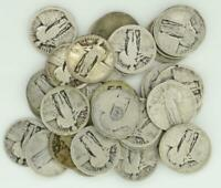 ROLL OF 40 $10 FACE 90  SILVER STANDING LIBERTY QUARTERS NO