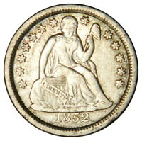 1852 SEATED DIME   VF/EXTRA FINE   PRICED RIGHT