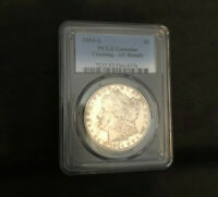 1894-S MORGAN DOLLAR - AU DETAILS - CLEANED
