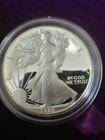 1986-S, 1987-S, 1988-S AMERICAN SILVER EAGLE PROOFS