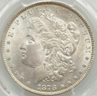 VAM-37 TOP 100 1878 7/8TF STRONG $1 MINT STATE 63 PCGS CERTIFIED MORGAN SILVER DOLLAR