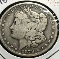 1878-S US. MORGAN SILVER DOLLAR / FINE