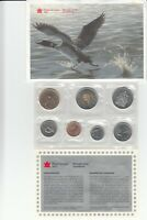 1997 CANADIAN W. PROOF LIKE 7 COINS NICKEL SET SEALED WITH COA & ENVELOPE