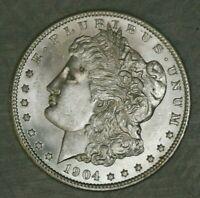 1904 O MORGAN DOLLAR BU PROOF LIKE UNC US SILVER $1