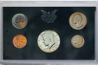 1970-S US MINT PROOF SET LARGE DATE UNC COLOR GEM BU NEON BLUE TONED NICKEL DR