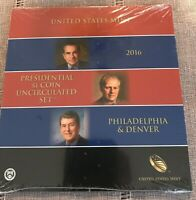 2016 SEALED PRESIDENTIAL $1 DOLLAR 6 COIN UNCIRCULATED SET P & D US MINT