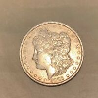 1901 P MORGAN SILVER DOLLAR $1 KEY DATE AU