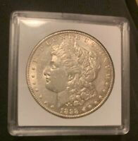 SEMI KEY DATE 1898 S MORGAN SILVER DOLLAR AU/MS BEAUTIFUL COIN