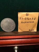 MEXICO SILVER COIN 1860 AE 8 REAL OAXACA A GREAT DETAILS NO