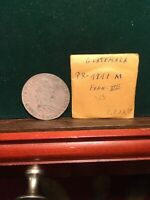 SPAIN COLONY SILVER COIN 1818 M GUATEMALA 8 REAL GREAT DETAILS  BEAUTY