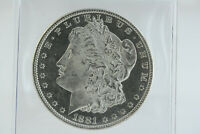 1881-O MORGAN DOLLAR . FROSTY BRILLIANT FLASHY BETTER DATE NEW ORLEANS MINT