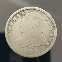 1831 CAPPED BUST DIME NO RESERVE AWESOME SILVER PIECE OF HIS