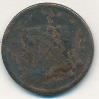 1840 BRAIDED HAIR LARGE CENT-WELL CIRCULATED LARGE CENT-SHIPS FREE INV:3