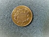 1869 TWO CENT PC - UNCERCULATED CONDITION
