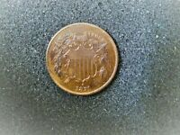 1871 TWO CENT PC -