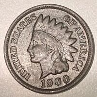 UNITED STATES OF AMERICA 1900 ONE CENT INDIAN HEAD