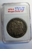 1879 S MORGAN DOLLAR ULTRA  DOUBLE DIE VAM 29 ONLY 4 KNOWN ALL GRADES
