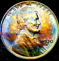 1930-D LINCOLN WHEAT CENT CENT-