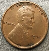 1926 P LINCOLN WHEAT CENT PENNY - HIGH GRADE  FREE SHIP. B535
